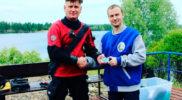 Поздравляем Ярослава с присвоение квалификации Спасатель НДЛ и прохождением курса доврачебной помощи!